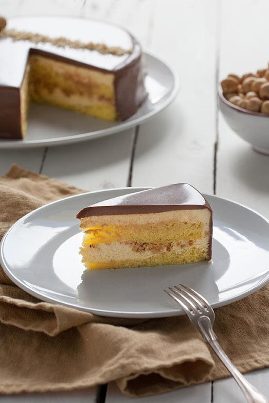 Torta Nocciola e Gianduia - Torta o Ragione