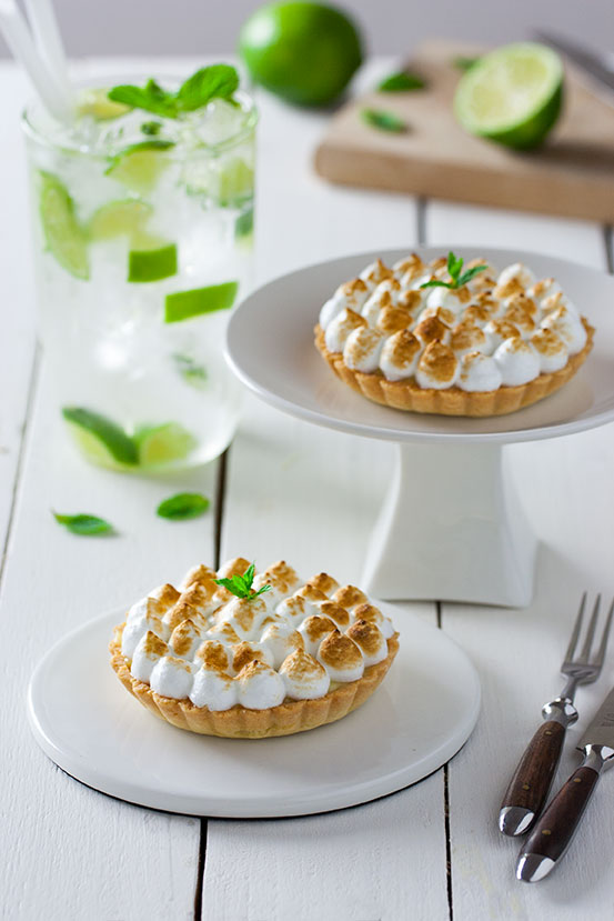 Crostatine meringate al mojito | tortaoragione.it