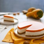 Cheesecake zucca amaretti e ginger   tortaoragione.it