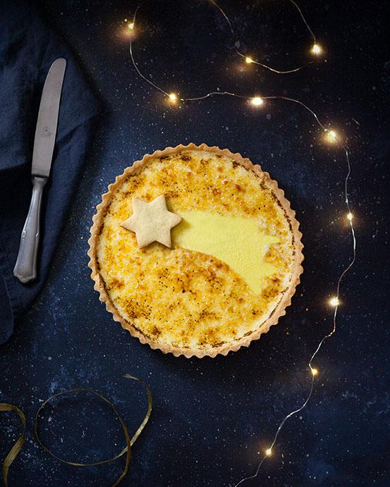 Crostata Creme Brulee al Cardamomo | tortaoragione.it