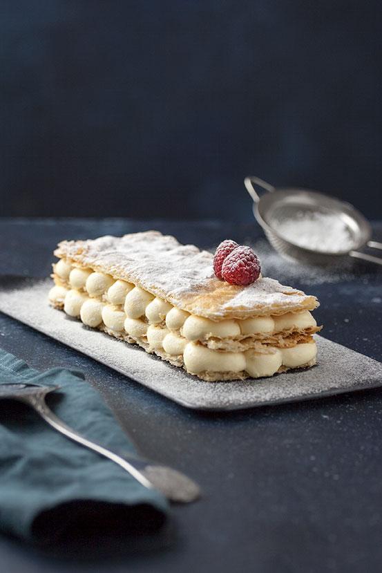 Millefoglie alla Crema Diplomatica | tortaoragione.it