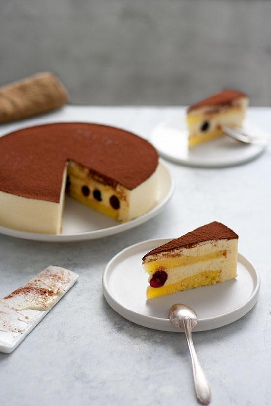 Torta Semifreddo Tiramisù alle Amarene | tortaoragione.it