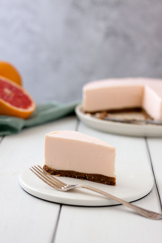 Cheesecake pompelmo rosa e cannella | tortaoragione.it