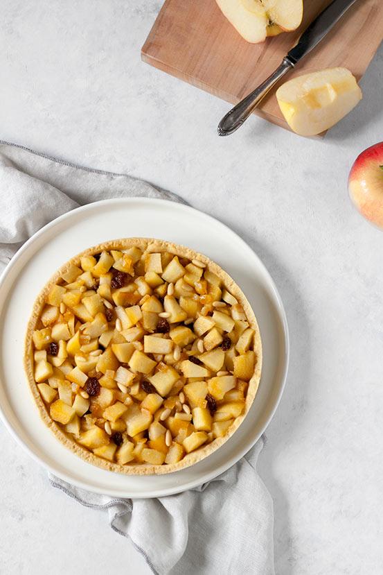 Crostata mele e cannella | tortaoragione.it