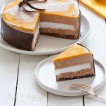 Torta semifreddo cioccolato cocco e mango | tortaoragione.it