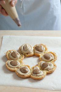 Pecan nuts Paris-Brest   tortaoragione.it